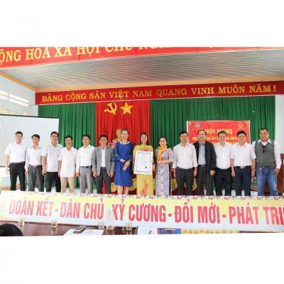 Tổ Chức Chứng Nhận VSCB cấp chứng nhận VietGAP cho cánh đồng lúa Buôn Choah