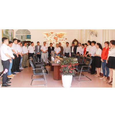 Giám Đốc Bền Vững Châu Á - Thái Bình Dương, Tập Đoàn JDE & Lãnh Đạo Tổ Chức Sáng Kiến Thương Mại Bền Vững IDH Đến Thăm Và Chúc Tết Tổ Chức Chứng Nhận VSCB