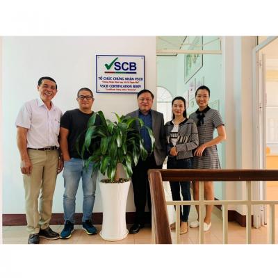 VSCB tiếp đón Đại diện Tổ chức Sáng kiến thương mại bền vững IDH