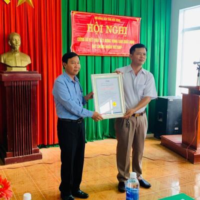 """Hội nghị """"Công bố kết quả xây dựng vùng sản xuất xoài Đắk Gằn đạt chứng nhận VietGAP"""""""