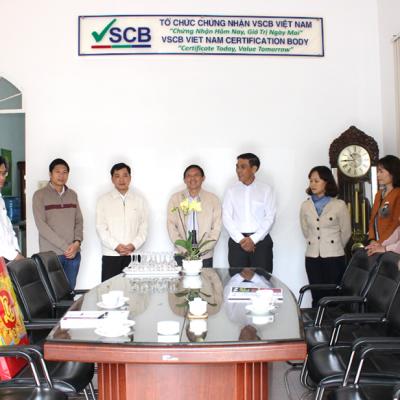Lãnh Đạo UBND Tỉnh Đắk Lắk Đến Thăm Và Chúc Mừng Đầu Năm Mới VSCB